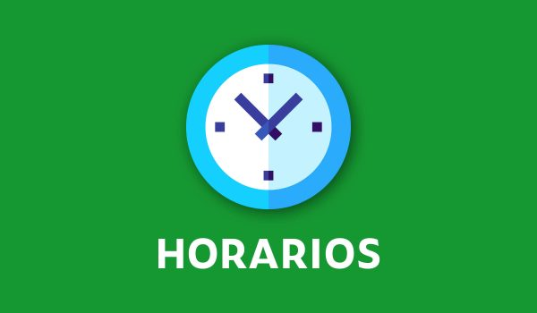 HORARIOS MEDIA SEMANA DEL 12 AL 16 DE ABRIL.