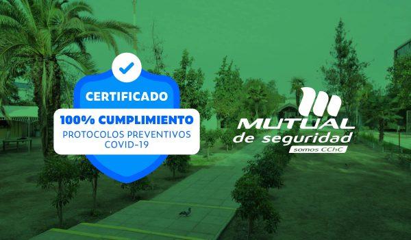 Colegio El Bosque Recibe Sello Mutual de Seguridad Covid-19