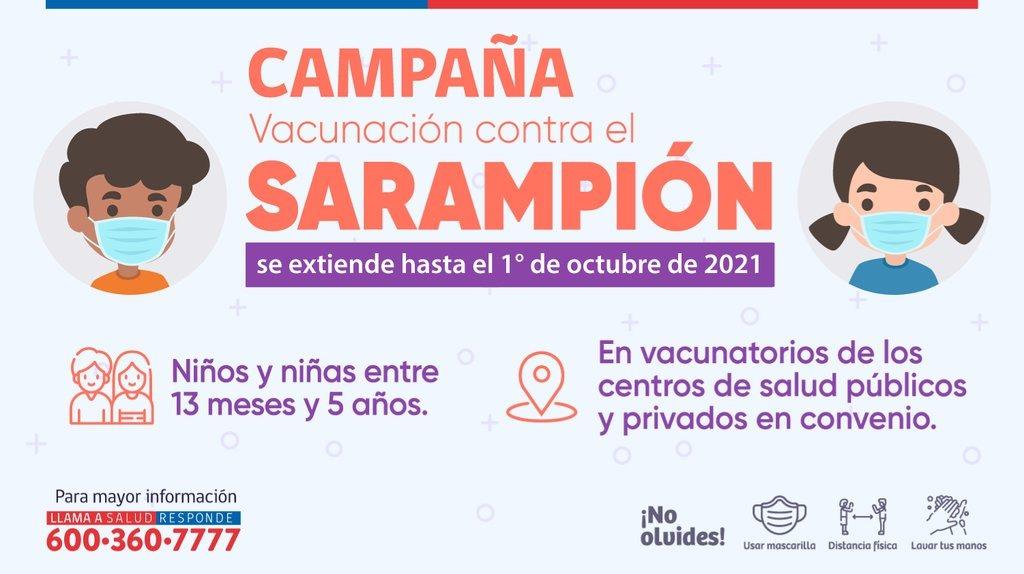 Vacunación Sarampión